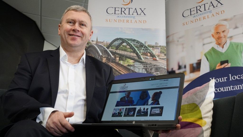 Michael Hendy, Certax Accounting Sunderland